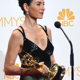 Julianna Margulies at the 66th Emmy Awards, September 22, 2014