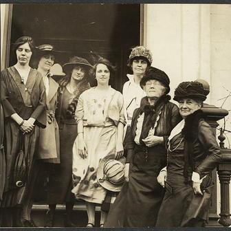Officers of the National Woman's Party, 1922