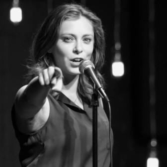 "Rachel Bloom on ""the Super Serious Show"""