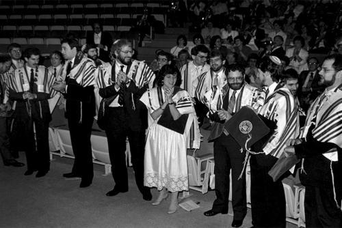 Amy Eilberg at her Ordination, 1985