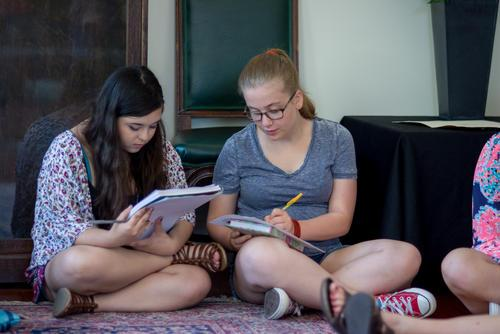 Rising Voices Fellows at a Retreat