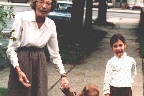 Natalia Twersky and Family, December 1985
