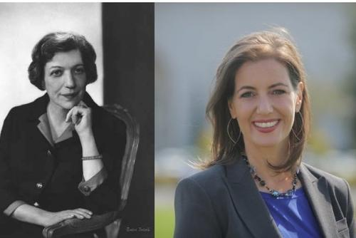 Justine Wise Polier and Libby Schaaf