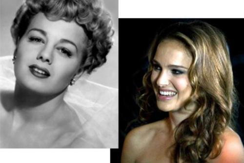 Shelley Winters and Natalie Portman