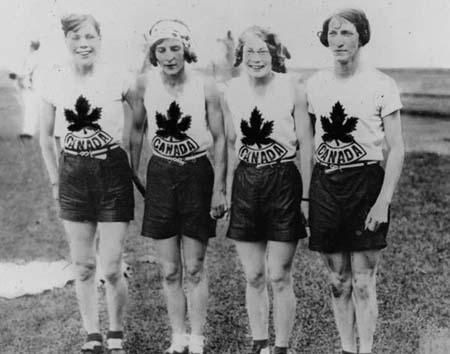 Canadian Olympic Relay Team, 1928