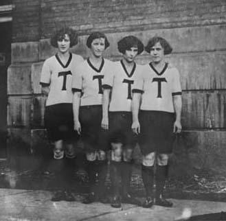 The Toronto Girl's Relay Team, circa 1924