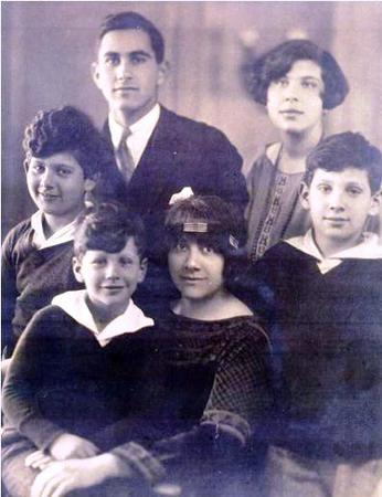 Irma Lindheim and her Children