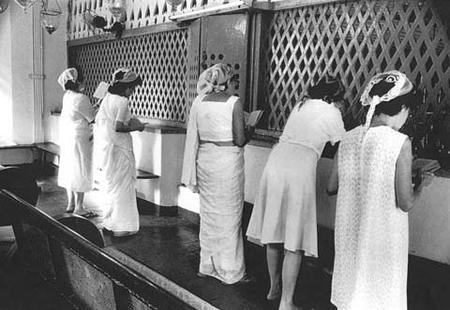 Women Praying at the Synagogue in Cochin