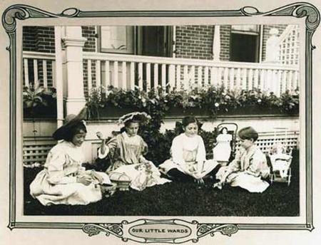 Patients at National Jewish Hospital
