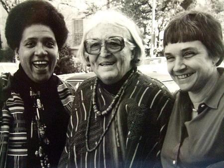 Audre Lorde, Meridel Lesueur, and Adrienne Rich, 1980