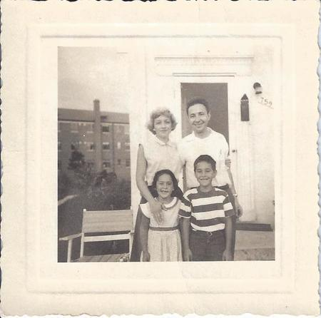 Henriette Avram and her Family, 1953