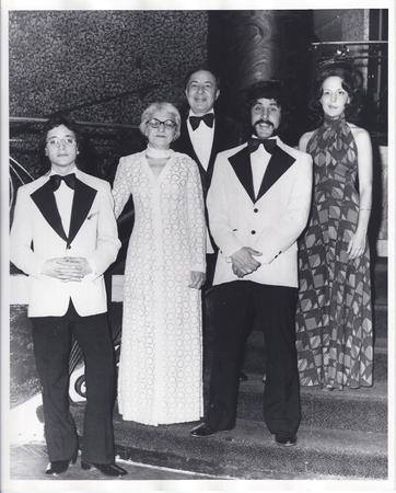 Avram Family at Presentation of Federal Women's Award, 1974
