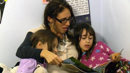 Basya Schechter with her Nieces