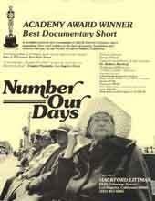 Poster from the Film by Barbara Myerhoff, Number Our Days
