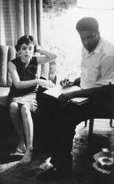 Dorothy Miller Zellner Giving an Affidavit to James Forman, circa 1963