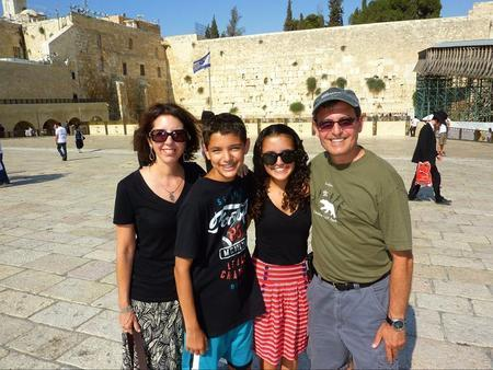 Eden Marcus and Her Family in Israel