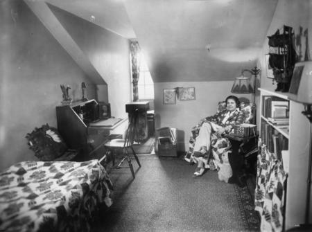Edna Grace in Her Dorm Room