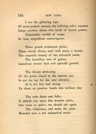 """How Long,"" by Emma Lazarus, page 2"