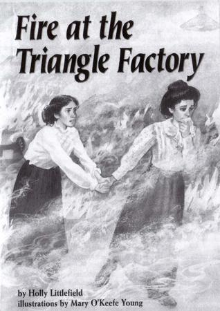 """Fire at the Triangle Factory"" Front Cover by Holly Littlefield, 1996"