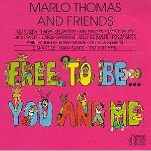 """Free To Be You And Me"" Album Cover by Marlo Thomas"