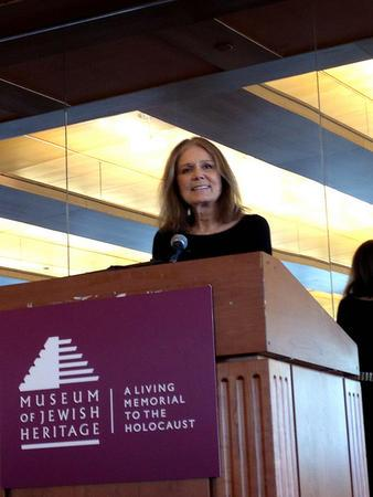Gloria Steinem at Making Trouble/Making History Luncheon, 2012