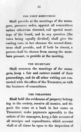 Rules and Regulations of the Philadelphia Orphan Society, Part 2 of 4