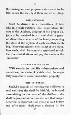 Rules and Regulations of the Philadelphia Orphan Society, Part 3 of 4