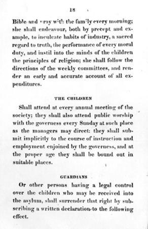 Rules and Regulations of the Philadelphia Orphan Society, Part 4 of 4