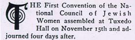 Report of the Convention of Council of Jewish Women from American Jewess, April, 1898, Part 2