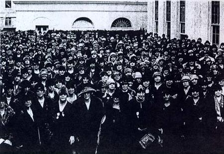 11th Triennial Convention of the National Council of Jewish Women at the White House, Washington, D.C., November 15, 1926