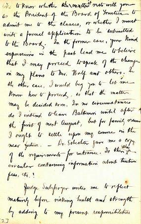 Letter from Henrietta Szold to Cyrus Adler, February 18, 1903, page 2