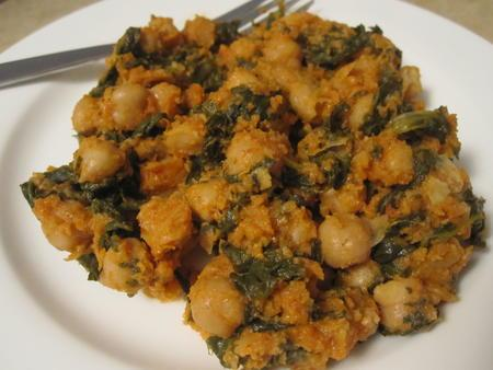 Espinacas con Garbanzos (Spinach and Chickpeas)