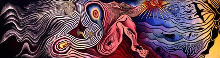 """The Creation"" from the ""Birth Project,"" by Judy Chicago"