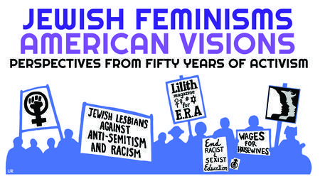 """Jewish Feminisms/American Visions"" Conference Poster"