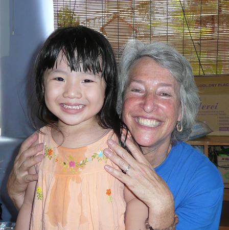 Karen Sokal Gutierrez with Vietnamese Child, 2011