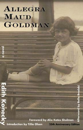 """Allegra Maud Goldman"" Front Cover by Edith Konecky"