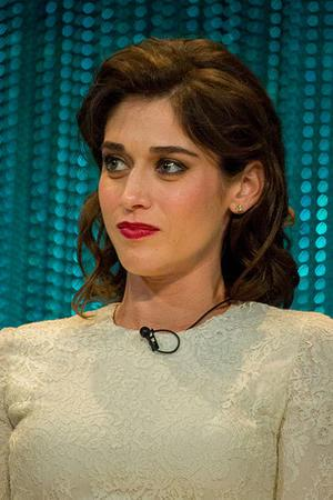 Lizzy Caplan, March 24, 2014