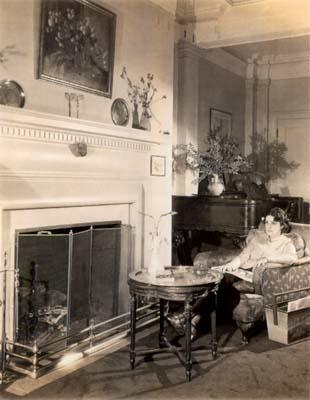 Beatrice Alexander in her New York Home, circa the 1940s