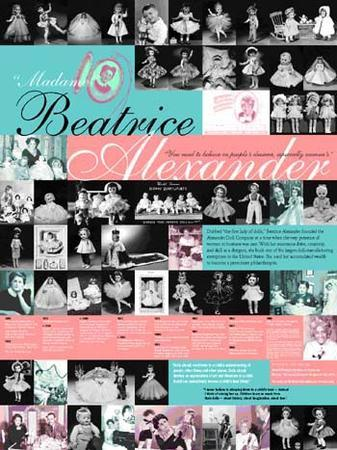 Beatrice Alexander Poster From JWA
