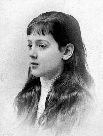 Melanie Klein as a child