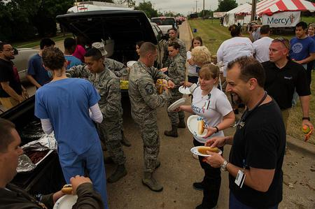 Disaster Relief After Tornado in Moore, Oklahoma, May 23, 2013