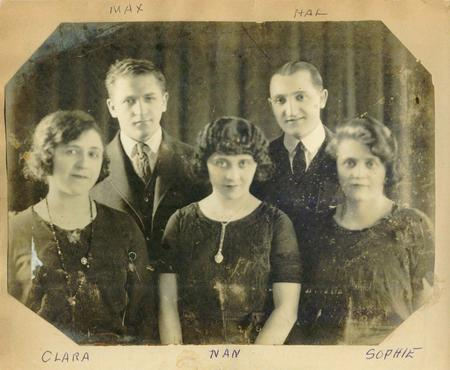 Nan Halperin and Family