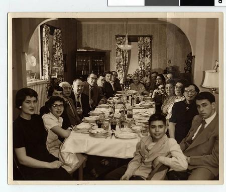 Family at Passover Table