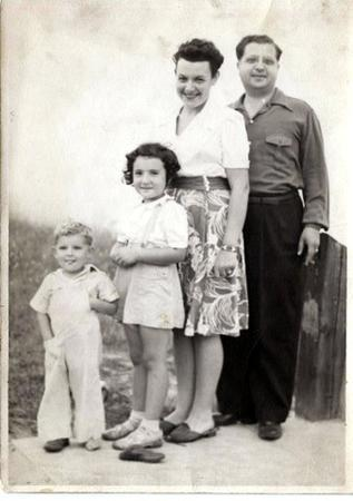Roberta Galler with Family