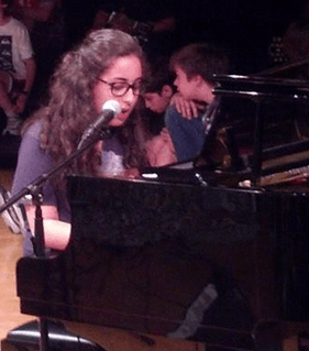 Eliana Gayle-Schneider Plays Piano and Sings