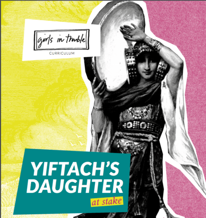 "Cover Art for ""Yiftach's Daughter at Stake"""