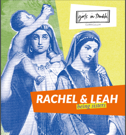 "Cover Art for ""Rachel and Leah: Being Sisters"""