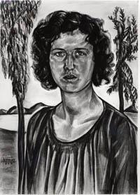 Ruth Light Braun's Self-Portrait, 1933