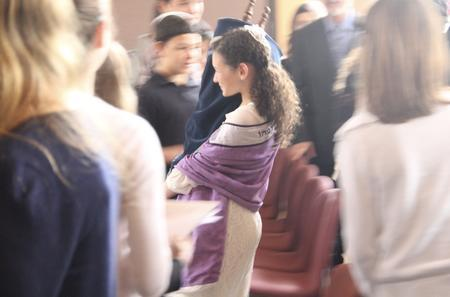 Tamar Cohen at her Bat Mitzvah