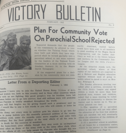 Selection from the Victory Bulletin